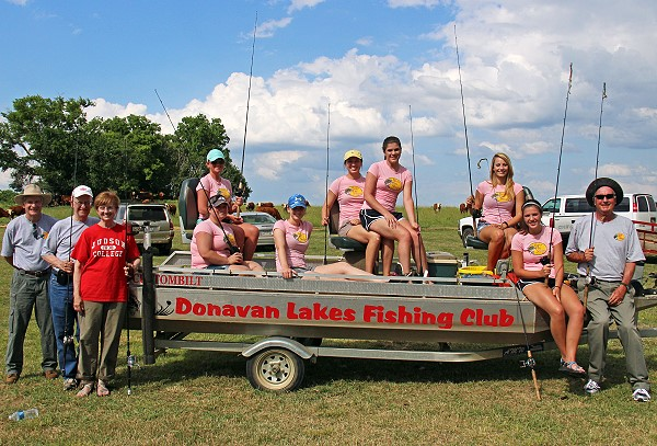 Manager Wilson's Judson College fishing class, 2013